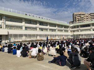国領小学校末續慎吾かけっこ教室