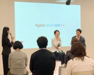 DYSONトークショー末續慎吾2